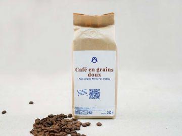 CAFE EN GRAINS DOUX       250 G