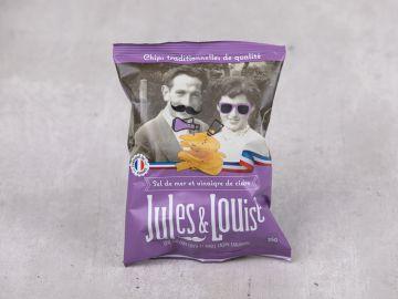 CHIPS JULES & LOUISE VINAIGRE DE CIDRE